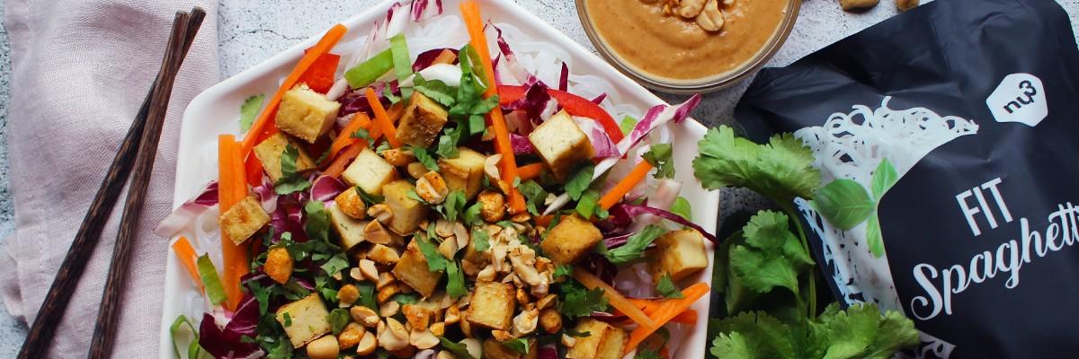 Salade detox thaï au tofu