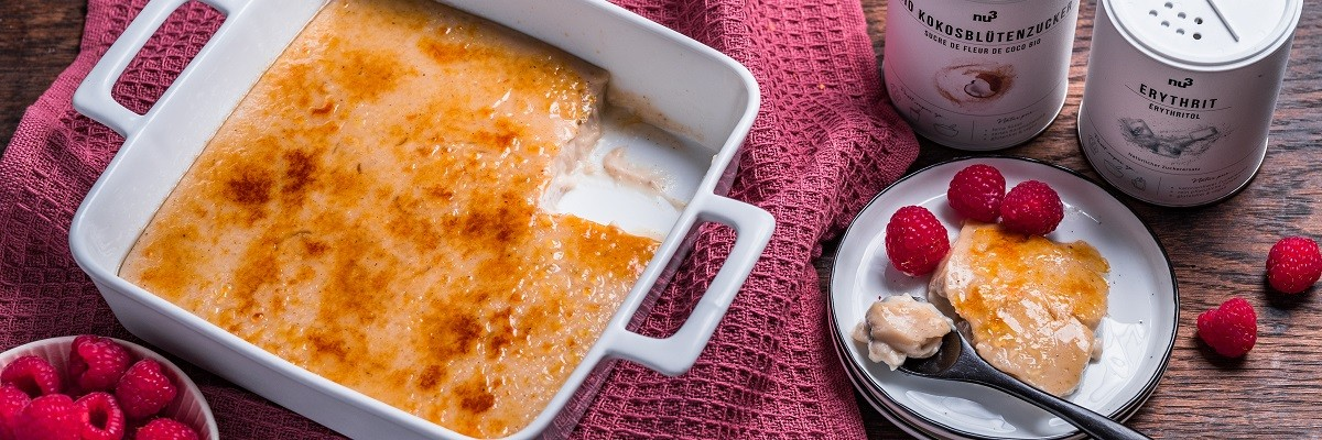 Vegan Crème Brûlée