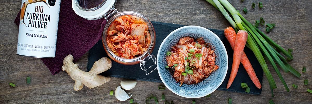 Rezept für veganes Kimchi