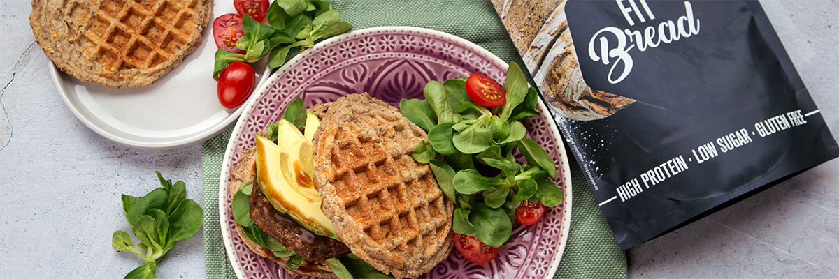 Burger de gaufres Low Carb