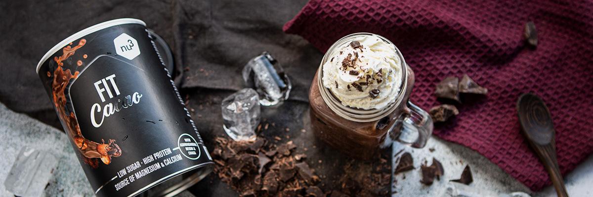 Frappé au chocolat sans sucre