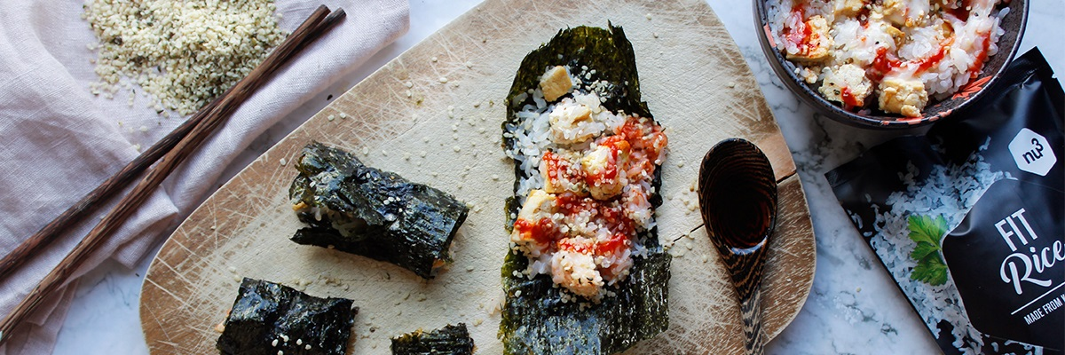 Baked Sushi ohne Fisch