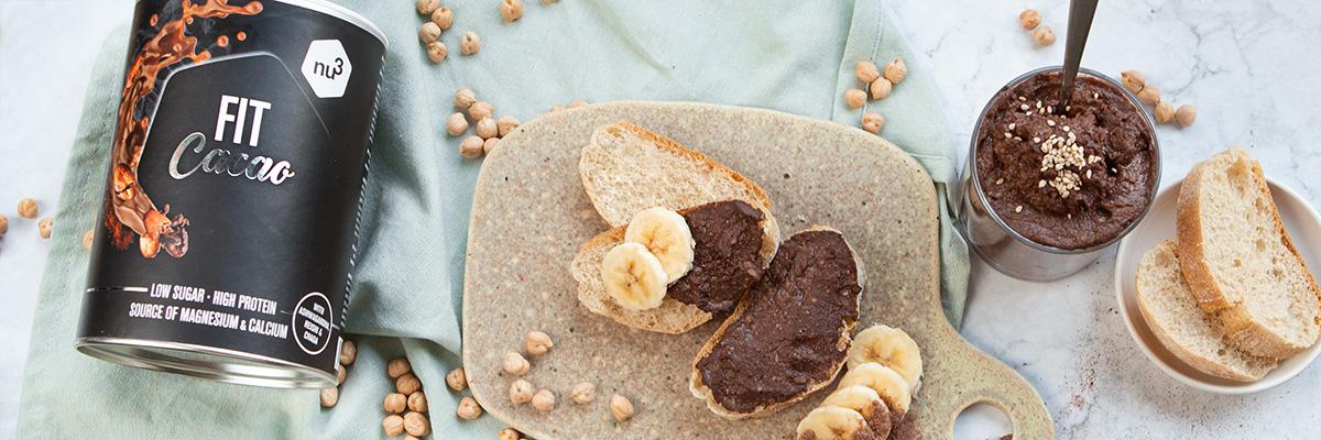 Schoko-Hummus mit Protein