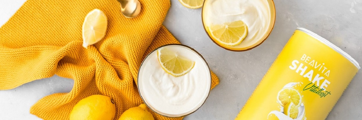 Crema proteica al limone