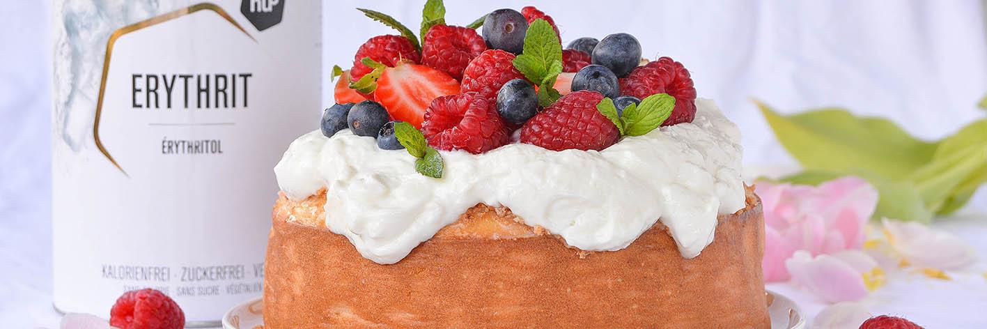 Naked cake senza zucchero